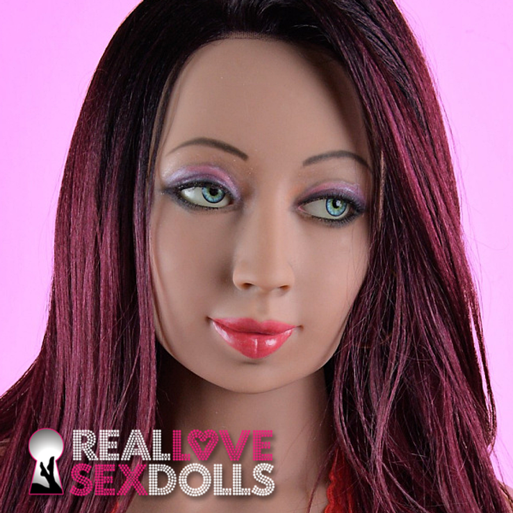 Hot experienced lover premium TPE realistic love doll head #184