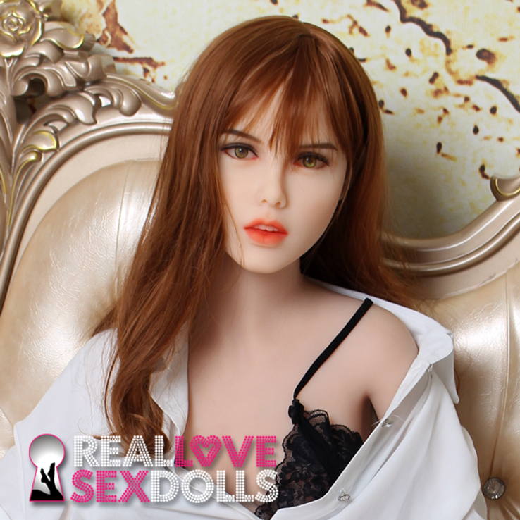 Beautiful girl next door premium TPE love doll head #185