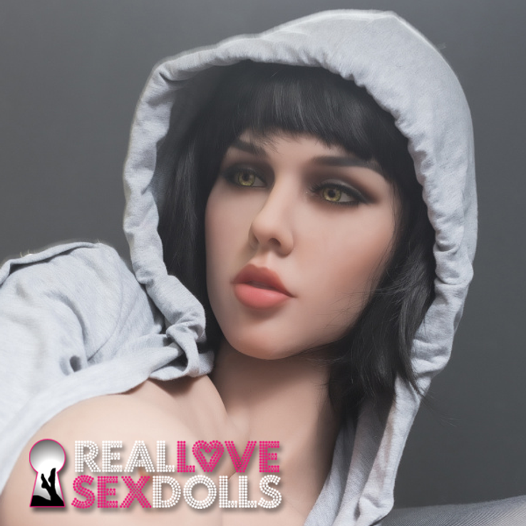Party girl fun lover life-like TPE beauty head #198 replacement sex doll head