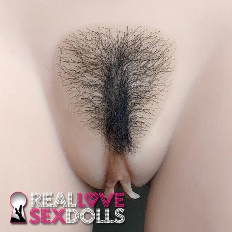 Pubic hair patch for TPE Sex Dolls