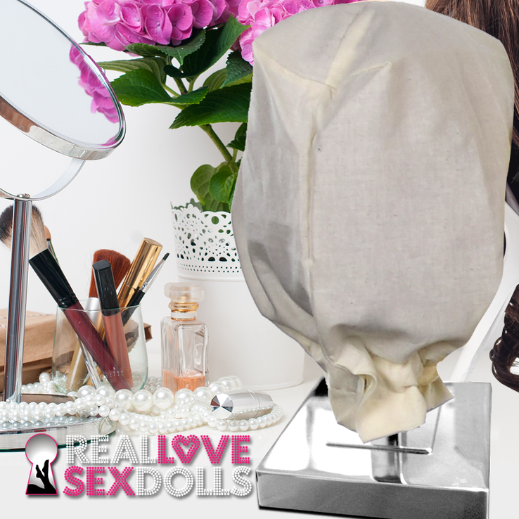 Stand for Sex Doll Head with Protective Dust Bag