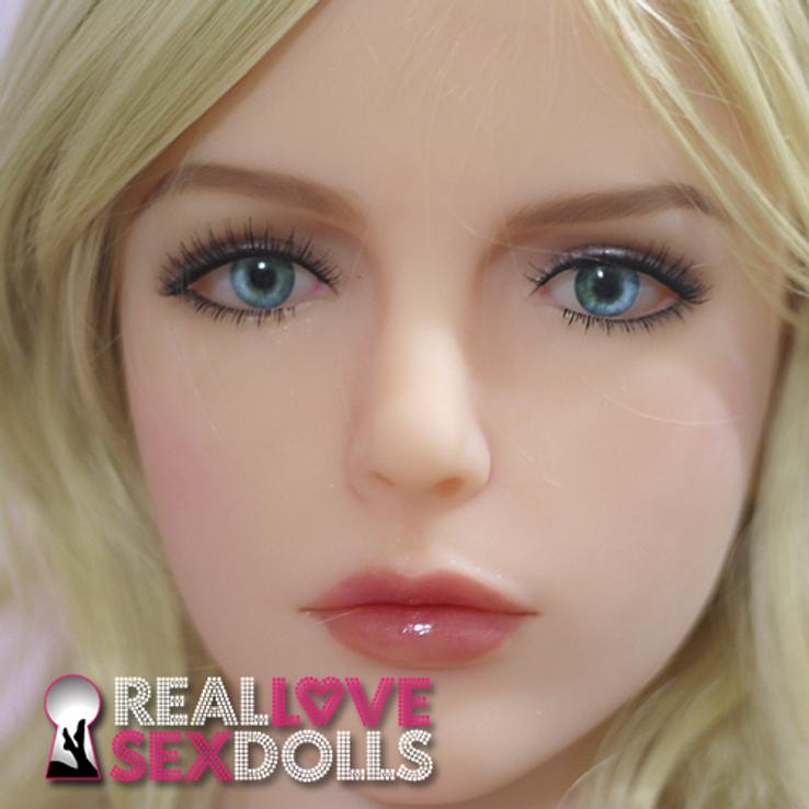 Sex Doll Kalisy Head at RealLoveSexDolls.com for TPE sex doll body.