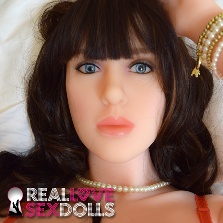 Sex Doll head #30 Head at RealLoveSexDolls.com for TPE sex doll body.