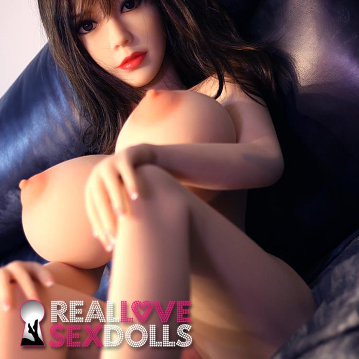 Massive breasts and petite body hot sex lover premium TPE love doll 148cm L-cup Clarise