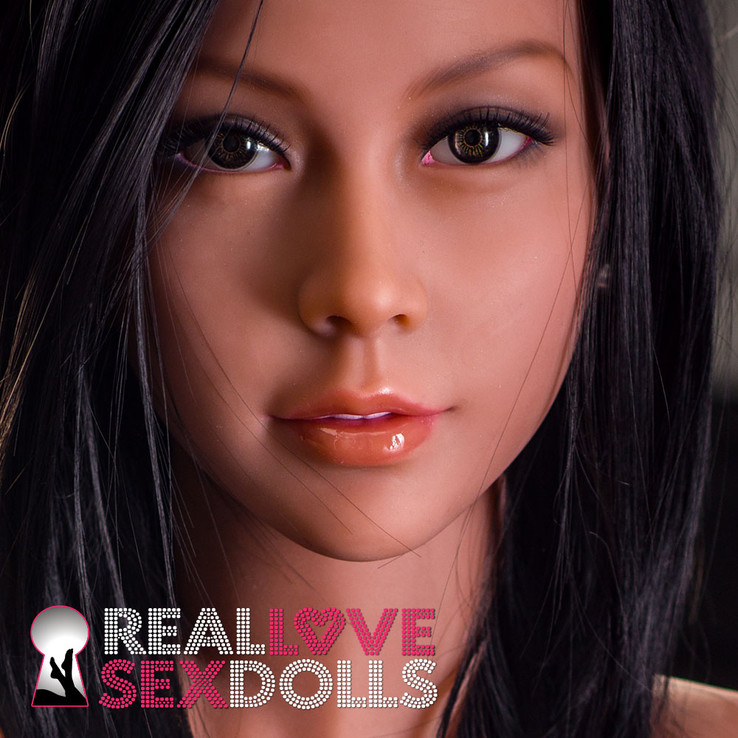 Sex Doll Head #56 at RealLoveSexDolls.com
