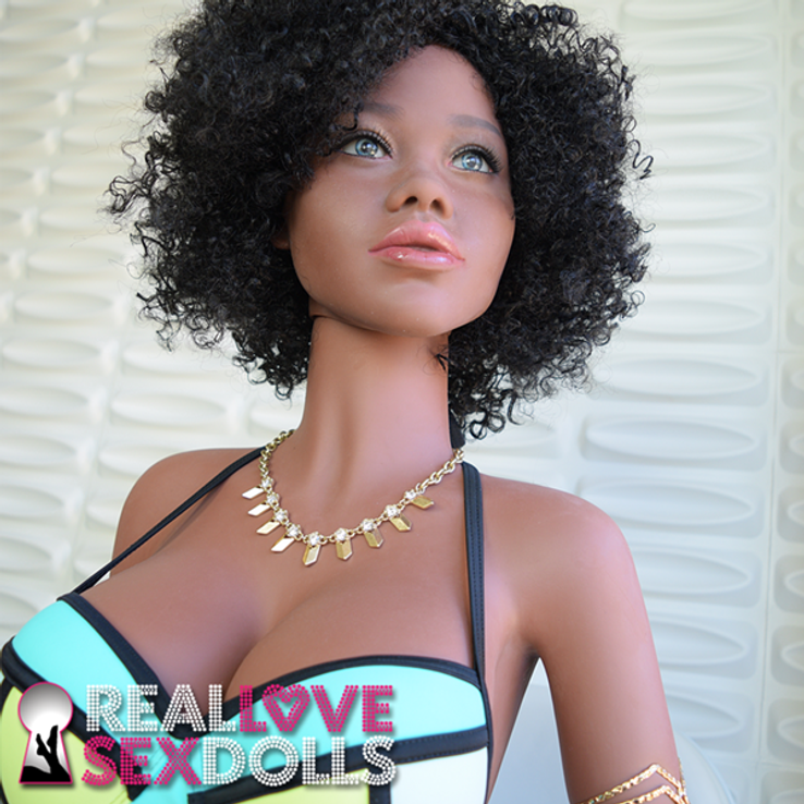 Black African American sex doll realistic life size