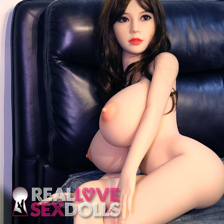 Unbelievable mighty curves premium TPE love doll body 148cm L-cup customize sex