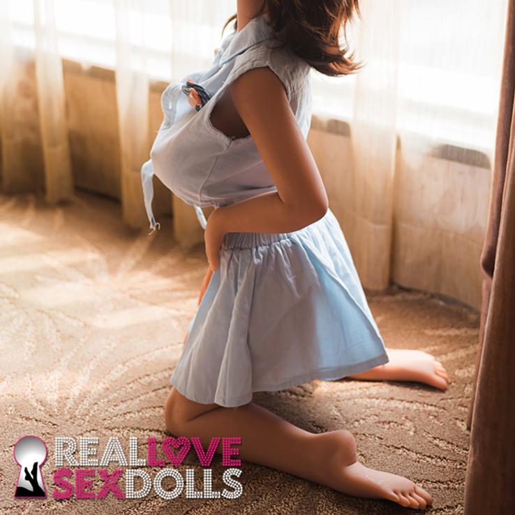 100cm 3ft3 sex doll Carmelita latina love doll