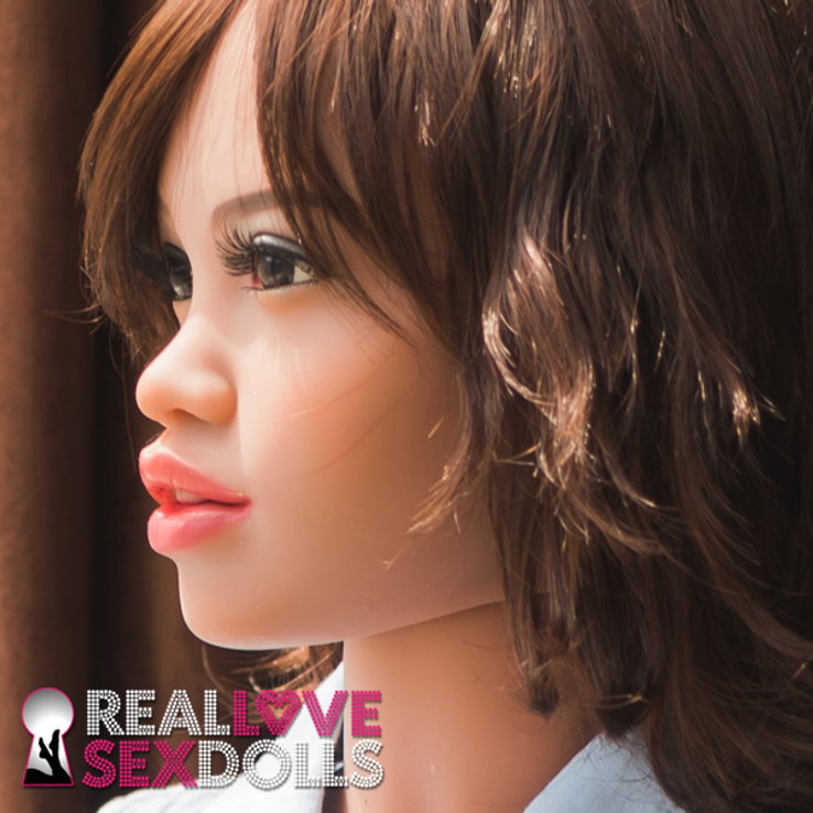 Exclusive sex doll head #104 by Real Love Sex Dolls