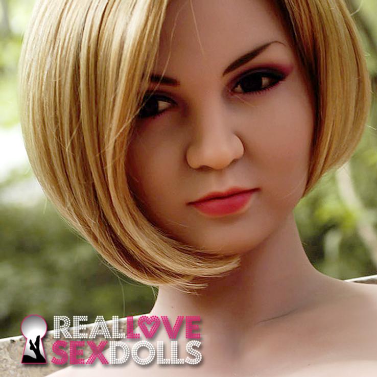 Cute mature TPE lovely sex doll head