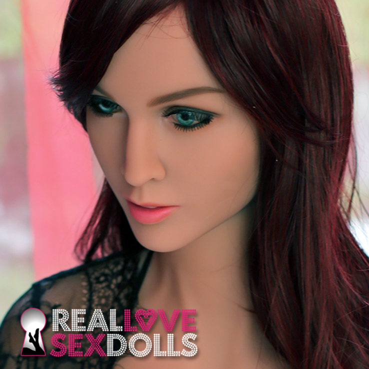 Sexy mature TPE realistic love doll head