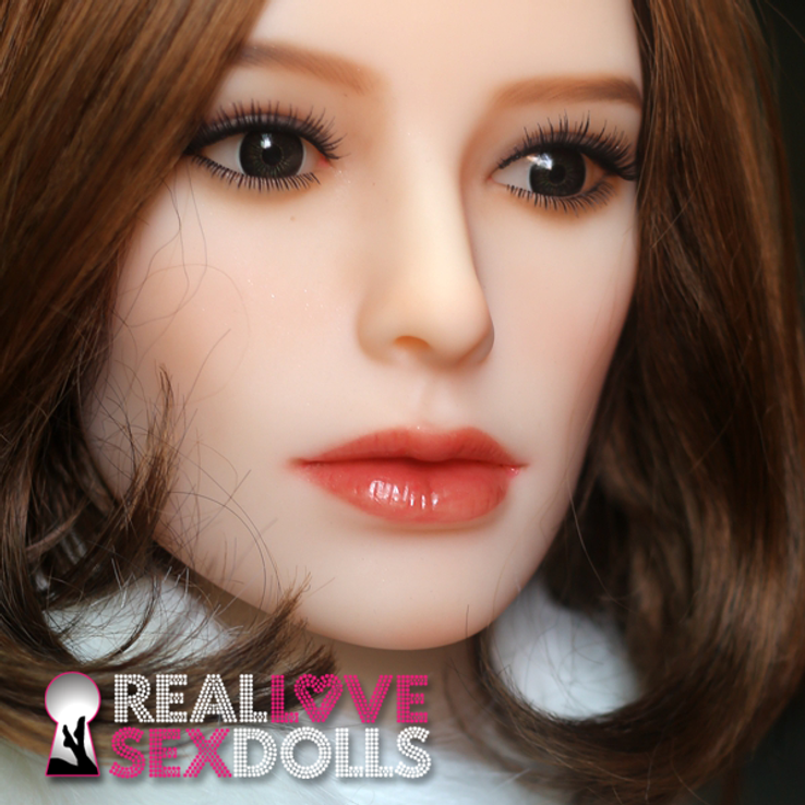Sophisticated premium TPE sex doll head #126