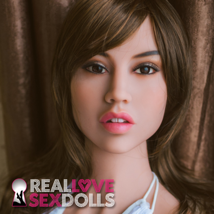 Sexy exotic premium TPE sex doll head #122