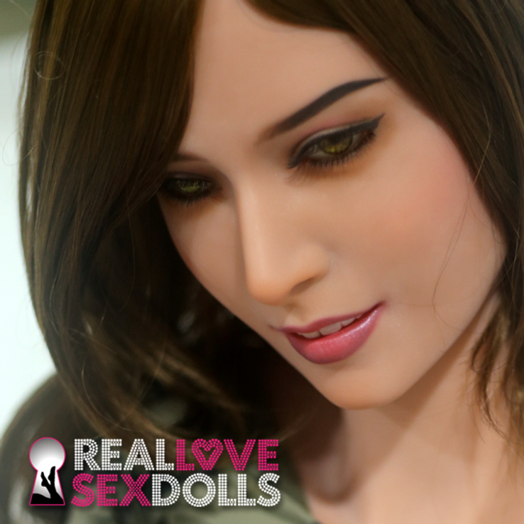Stunning beauty premium TPE love doll head #47