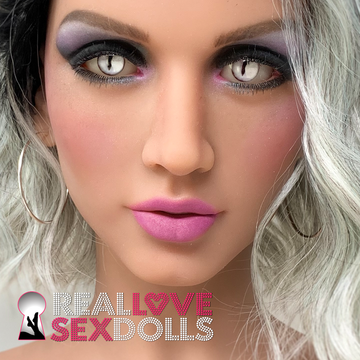 Mystical Silver Cat Eyes for your sex doll