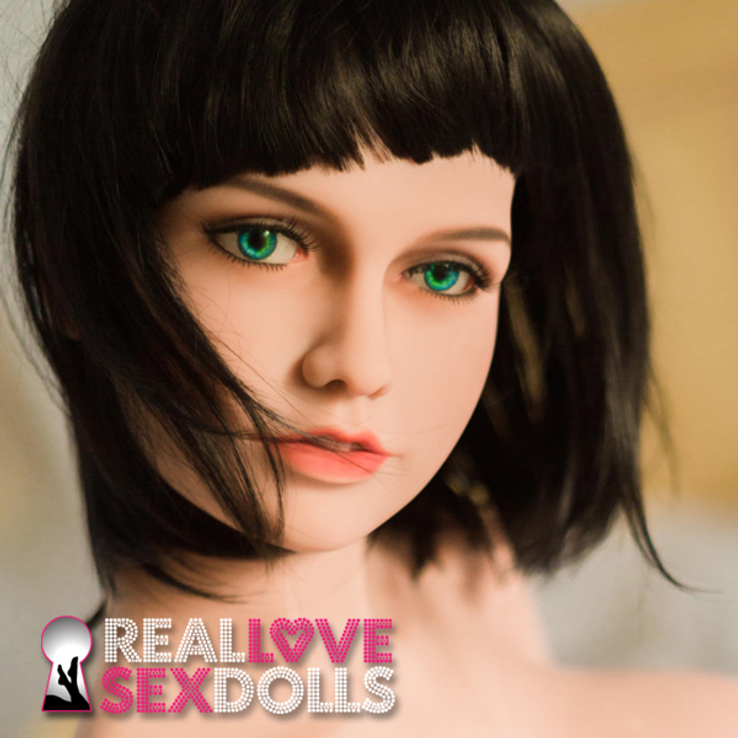 Seductive realistic premium TPE sex doll head 141