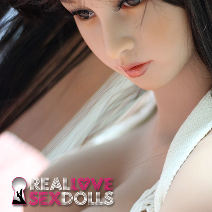 Busty cute life-like premium TPE 85cm Torso with arms sex doll Shelby