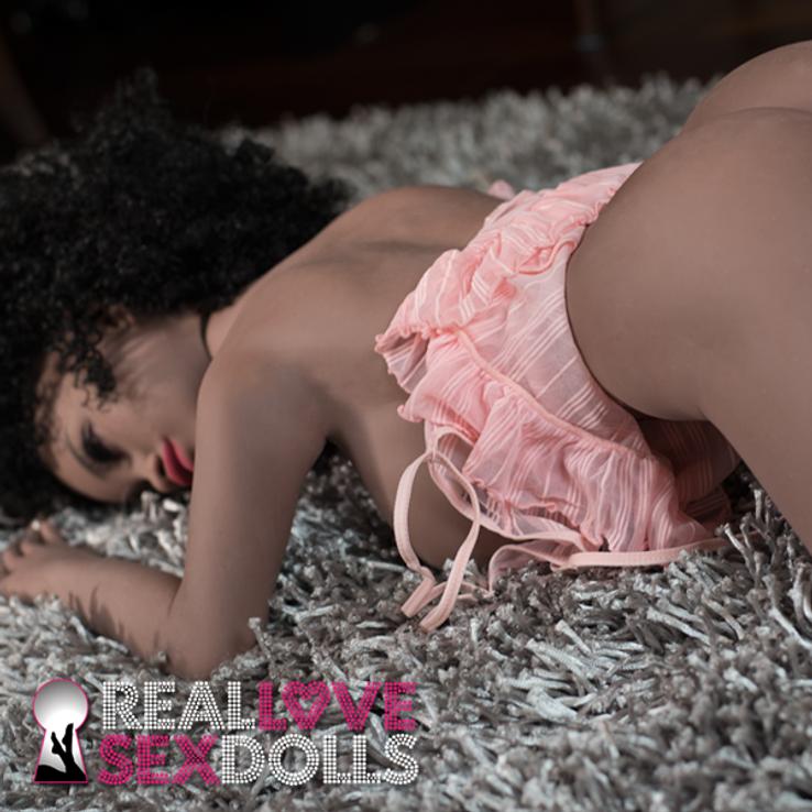 Busty 100cm premium cocoa TPE sex doll Shani