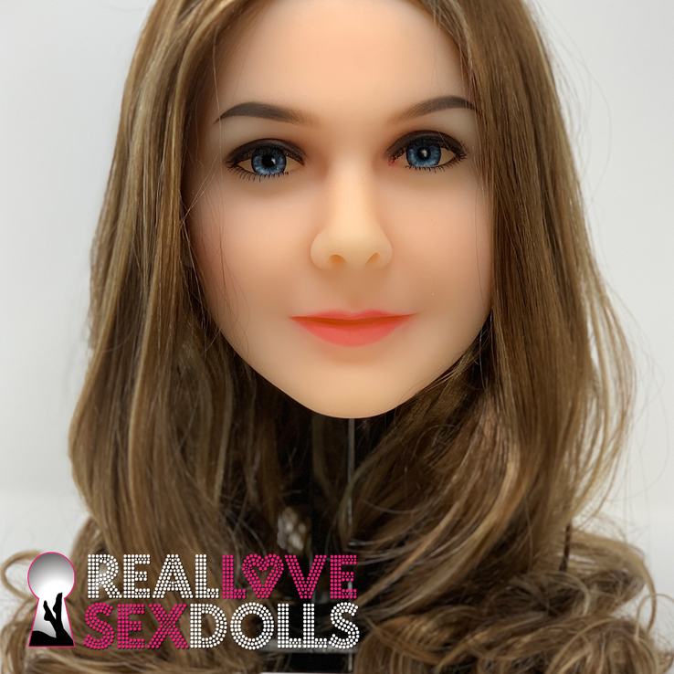 Experienced mature woman premium TPE sex doll head 43