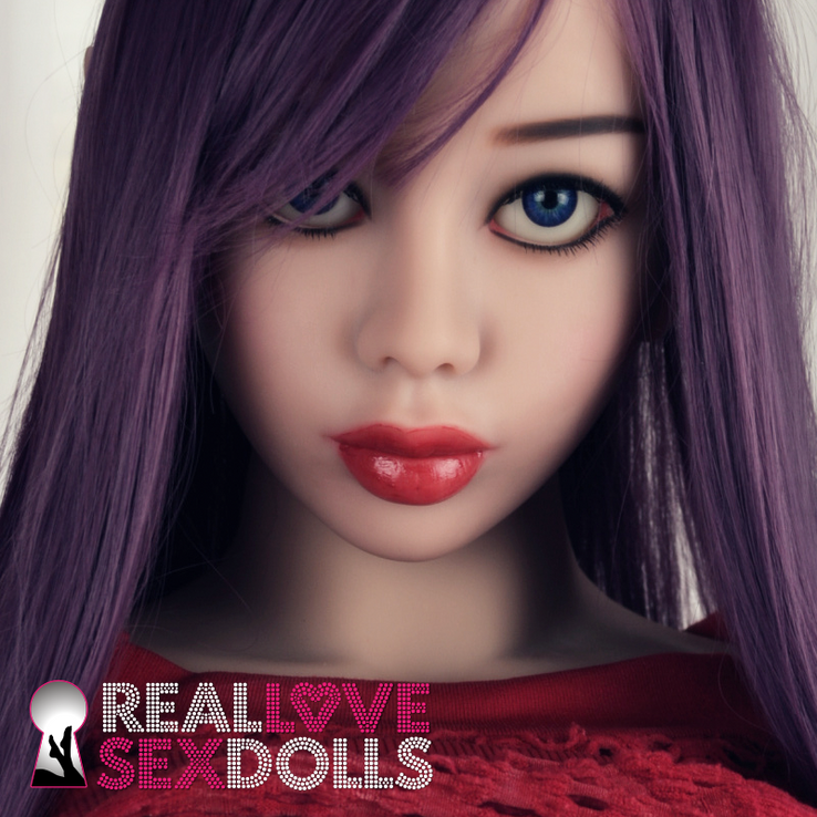 Sex Doll Elf head with dark blue eyes