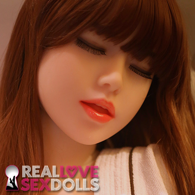 Seductive sleepy high quality TPE 158cm D-cup sex doll Kat