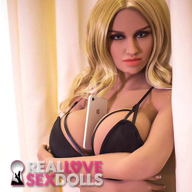 Curvy sex bomb high-quality TPE love doll 150cm G-cup Kiera