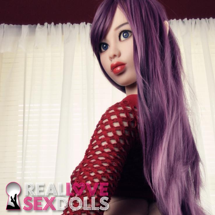 Big booty Elf premium life-like TPE sex doll 158cm Melody