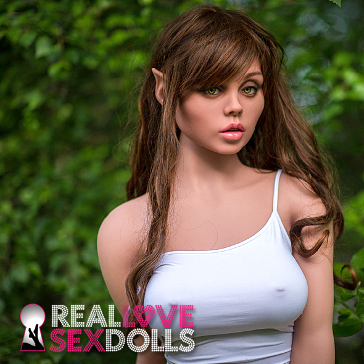 Forest elf seductress high quality premium TPE love doll 160cm D-cup Jovi