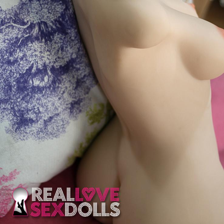 Tight body torso premium TPE love doll with head 82cm