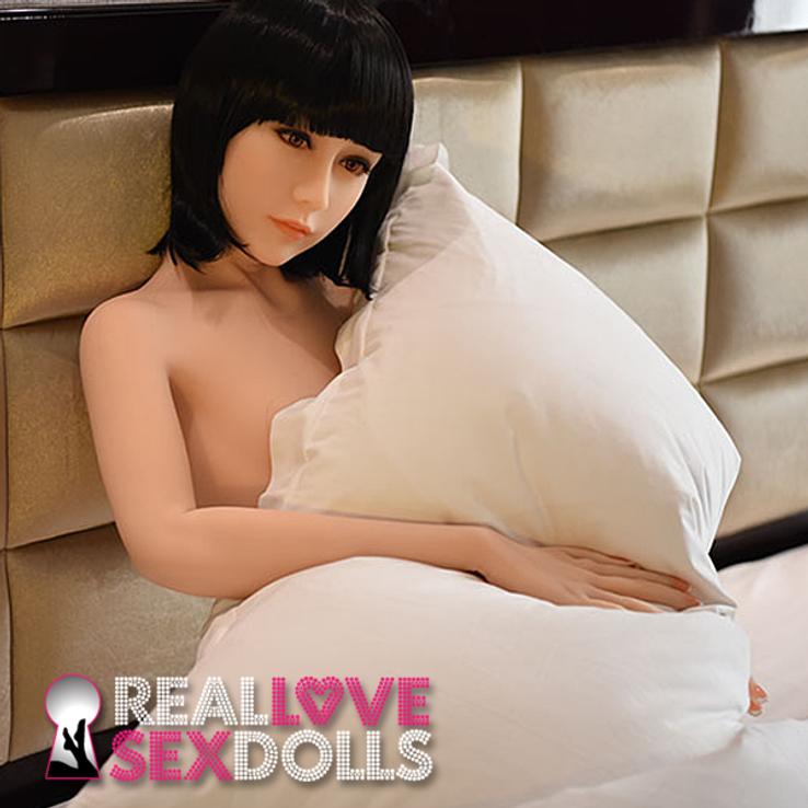 Sophisticated lover slender dream girl premium TPE love doll 158cm A-cup Akari