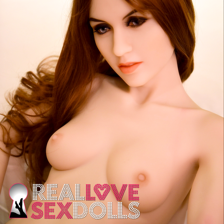 Small breast thin slender sex doll with small butt