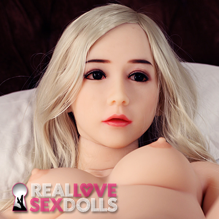 Hot and tight horny slender lover life-like TPE love  doll 153cm A-cup Gillian