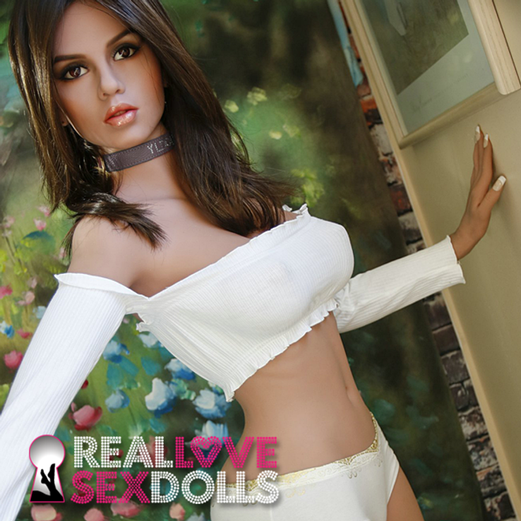 Busty playmate sex toy girlfriend premium TPE love doll 155cm D-cup Angel