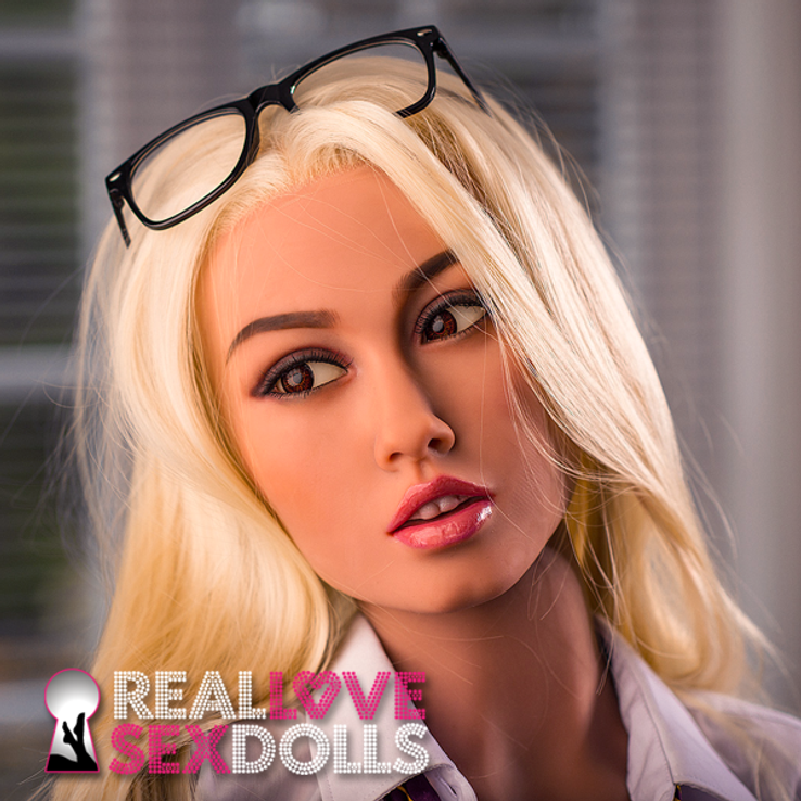 Tempting sexy schoolgirl premium TPE love doll 157cm B-cup Devon