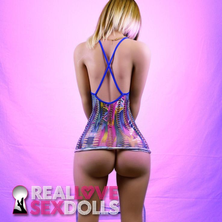 Huge twerking ass stripper hookup premium TPE 160cm B-cup sex doll Sierra