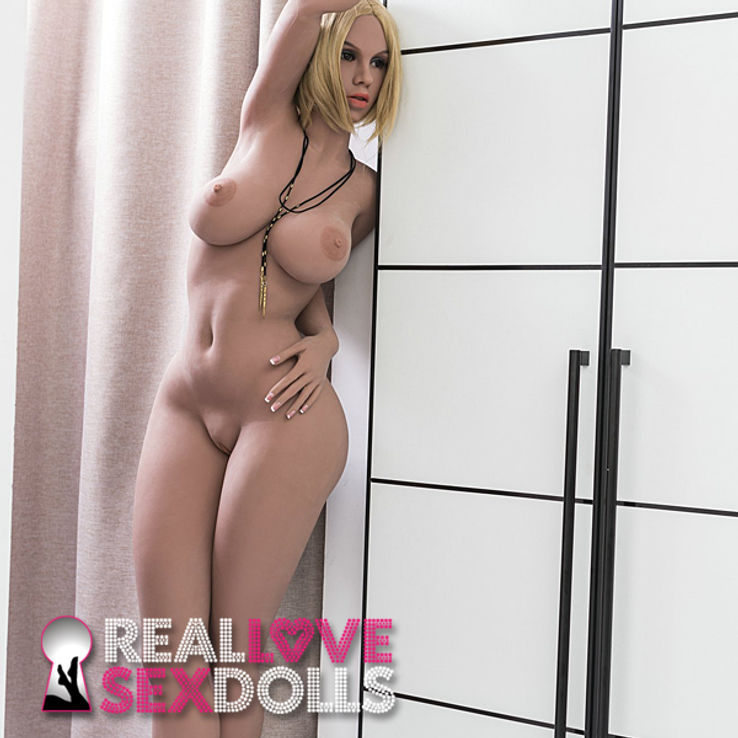 Curvy big tits and ass lover life like high quality TPE sex doll 165cm YL D-cup Jessa