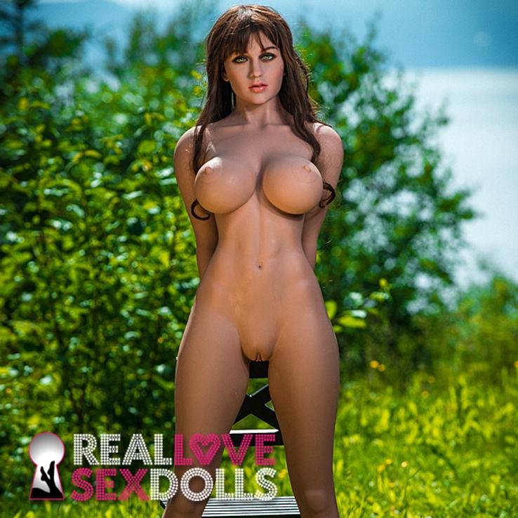 Sweaty sexpot companion premium TPE sex doll 170cm H-cup Renee