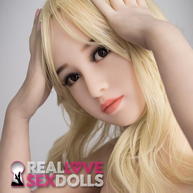 Seductive girl next door girlfriend life-like TPE sex doll 145cm C-cup Heather