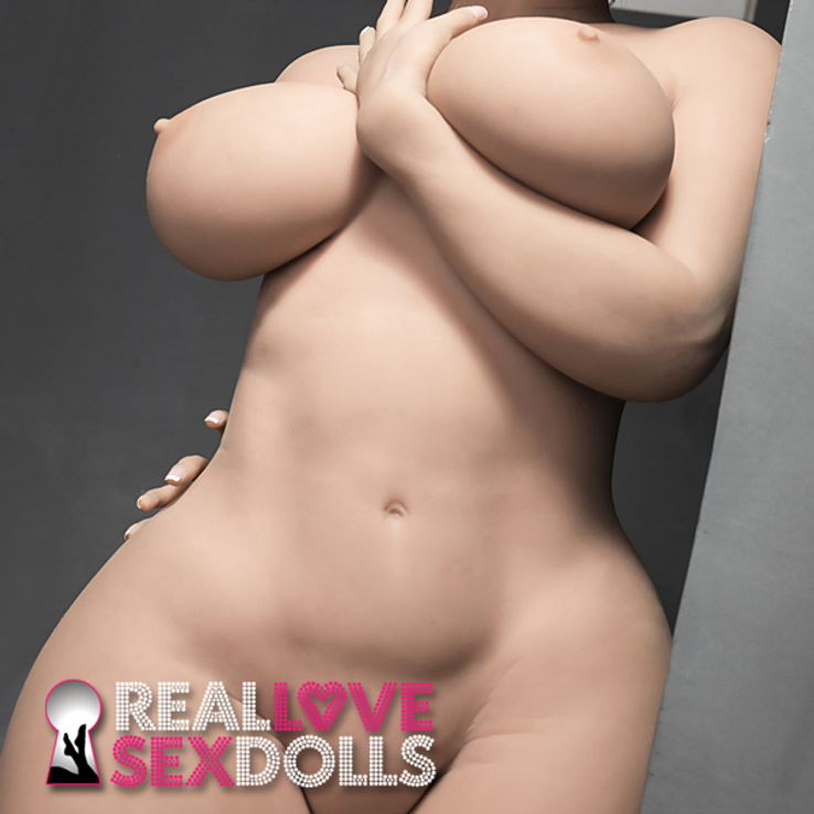 Curvy giantess hot romp realistic natural huge ass thick thighs massive jugs TPE sex doll 163cm H-cup lover