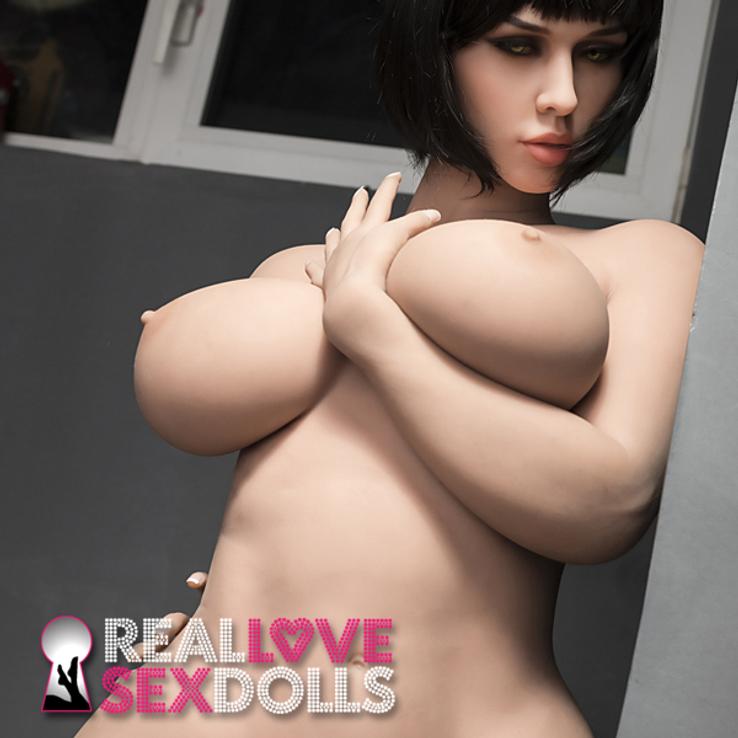 Thick sexy lover hot girlfriend premium TPE love doll 163cm H-cup Jasmine