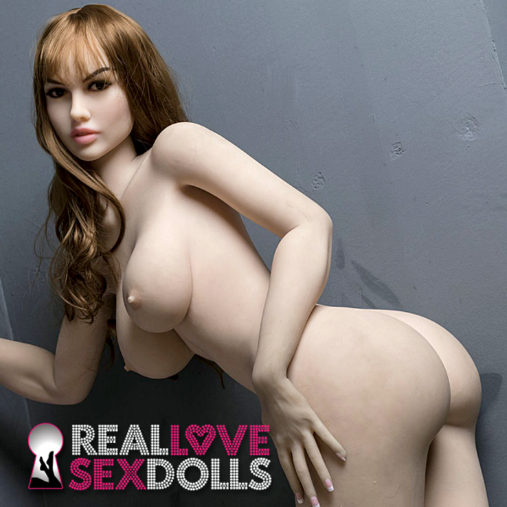 Seductive schoolgirl tempting naughty life-like premium TPE sex doll 170cm D-cup Felicity