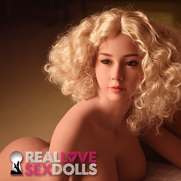 Saucy nudist life-like hot lover glamour girl premium TPE sex doll 161cm G-cup Fiona