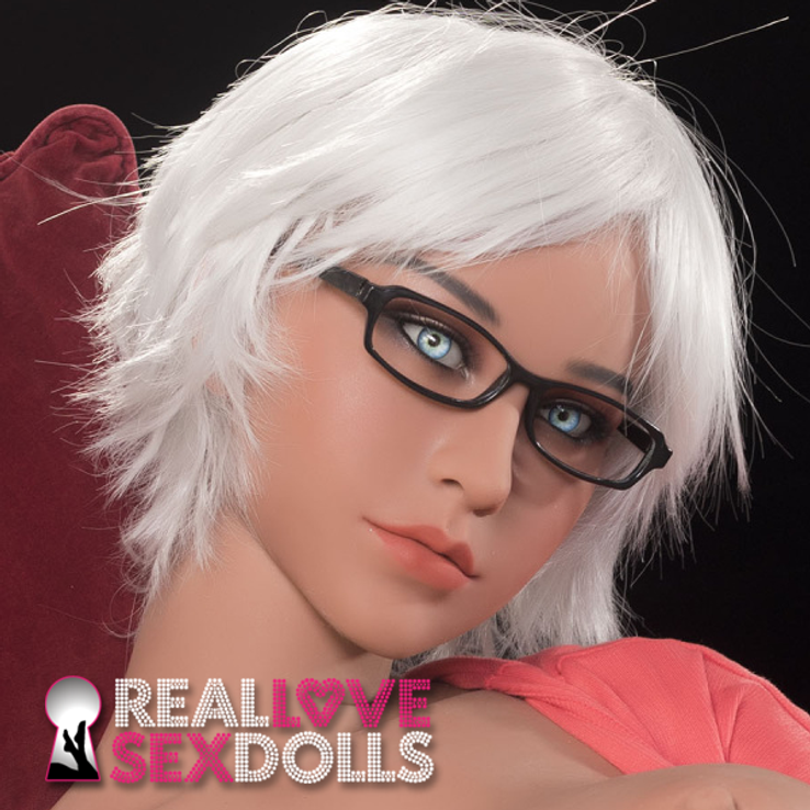 Trendy smart erotic fashionable lover premium TPE replacement sex doll head #210