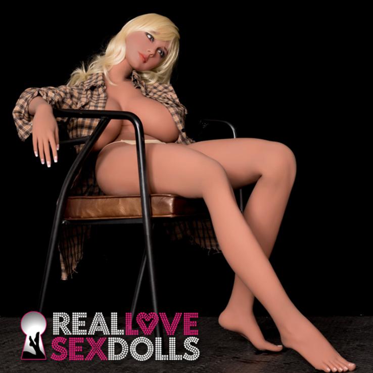 Big breasts hottie premium quality girlfriend TPE sex doll 167cm H-cup Tori