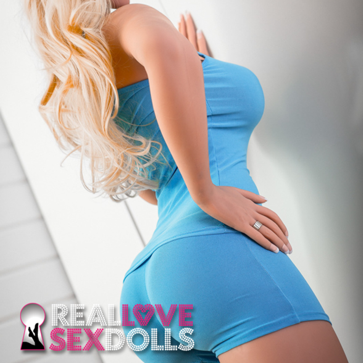 Hot exercise trainer lusty sexbomb premium TPE love doll 170cm H-cup busty love doll Maya
