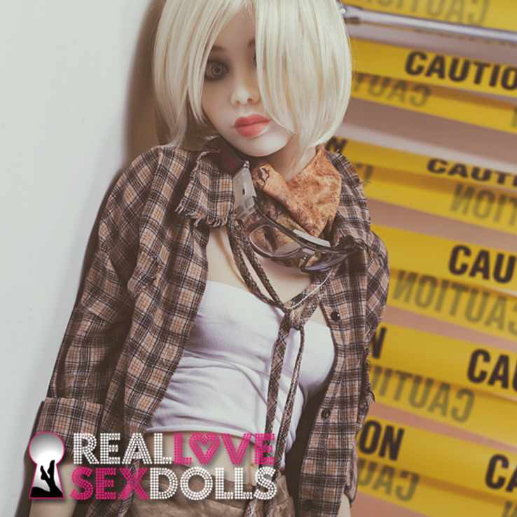 Horny grunge rock elf girlfriend punk lover premium TPE sex doll skinny 168cm A-cup Aila