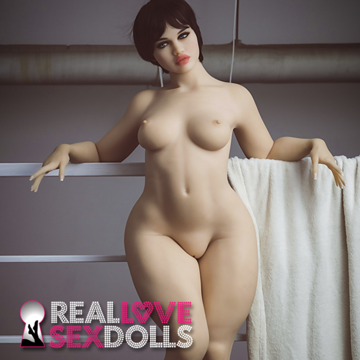Thick big booty lover sweaty workout hot sex premium TPE love doll 156cm B-cup Shay