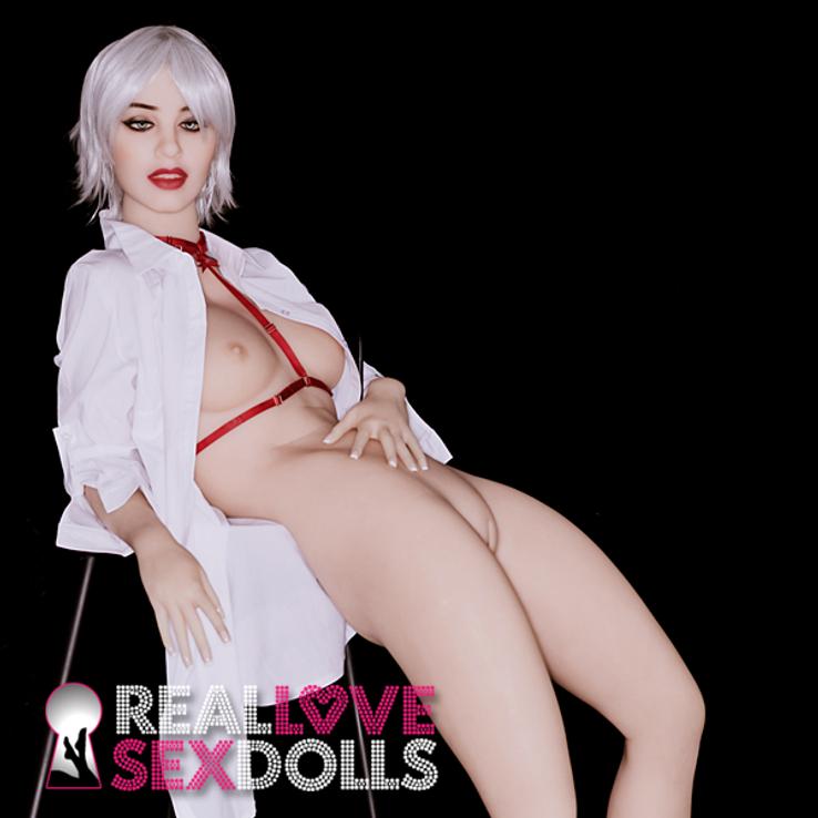 Geek groupie sexy neighbor girl next door premium TPE sex doll 162cm B-cup Kaley