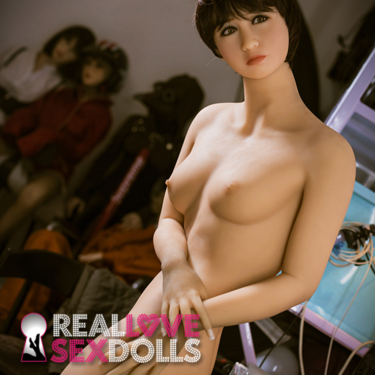 Domineering tutor bad student punish with sex realistic TPE sex doll 162cm B-cup Stella
