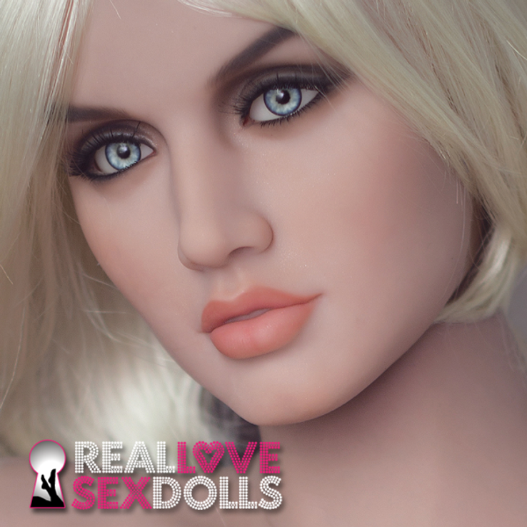 Hot sweaty summer lover realistic curvy TPE sex doll 163cm H-cup Charlize